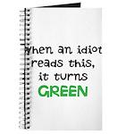 Idiot Green Journal