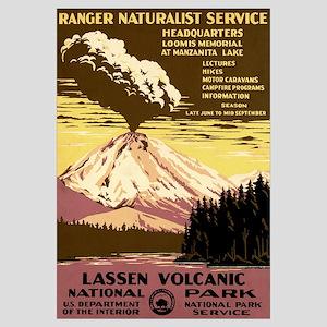 1930s Vintage Lassen Volcanic National Park Small