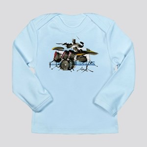 Drummer Long Sleeve Infant T-Shirt