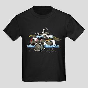 Drummer Kids Dark T-Shirt