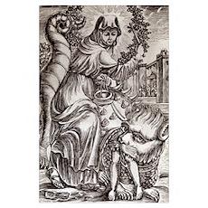 St. Martha & Tarasque Poster