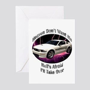 Ford Mustang GT Greeting Cards (Pk of 20)
