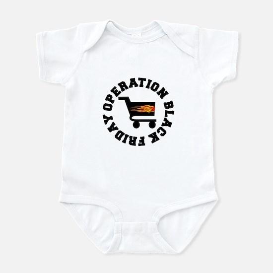 Operation Black Friday Infant Bodysuit