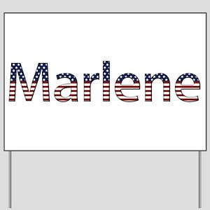 Marlene Stars and Stripes Yard Sign