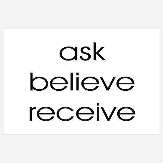 THE SECRET ASK BELIEVE RECEIVE
