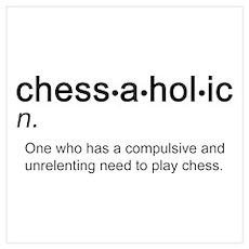 Chess Chessaholic Poster