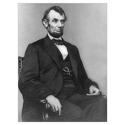Abraham Lincoln (1864) Poster