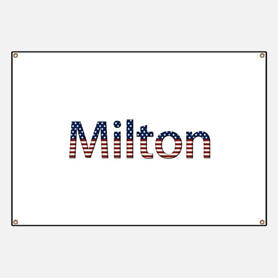 Milton Stars and Stripes Banner