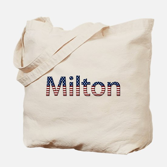 Milton Stars and Stripes Tote Bag