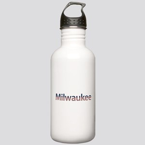 Milwaukee Stars and Stripes Stainless Water Bottle