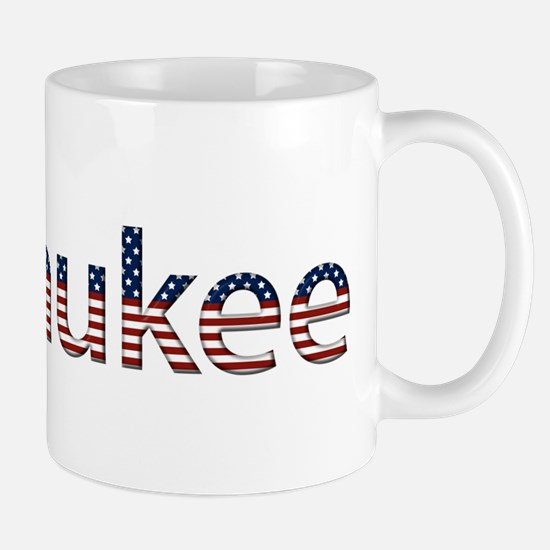 Milwaukee Stars and Stripes Mug