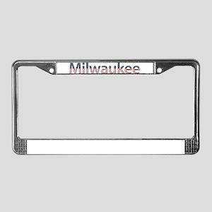 Milwaukee Stars and Stripes License Plate Frame
