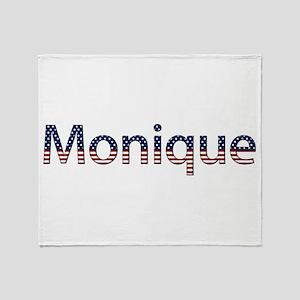 Monique Stars and Stripes Throw Blanket