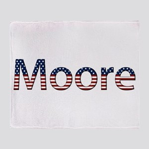 Moore Stars and Stripes Throw Blanket