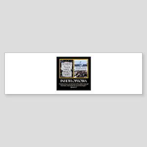 INFADELPHOBIA Sticker (Bumper)
