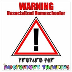 Rainbow Unsocialized Homescho Poster