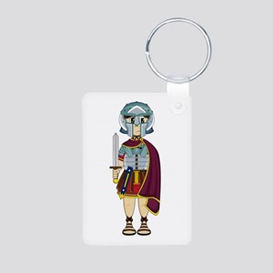 Cute Roman Gladiator Keychain