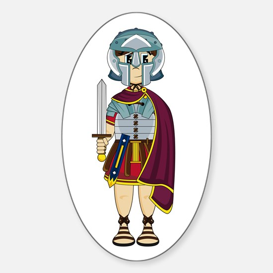 Cute Roman Soldier Decal