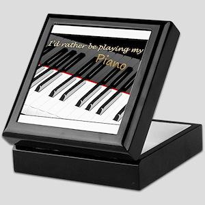Playing My Piano Keepsake Box