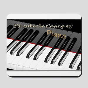 Playing My Piano Mousepad
