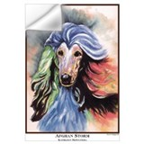 Afghan hounds Wall Decals