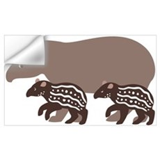 Tapir Family A Wall Decal