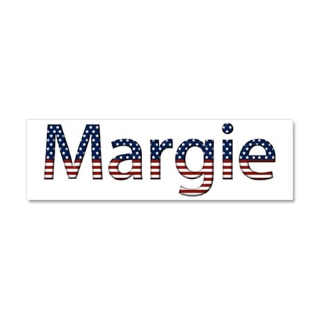 Margie Stars and Stripes 10x3 Car Magnet