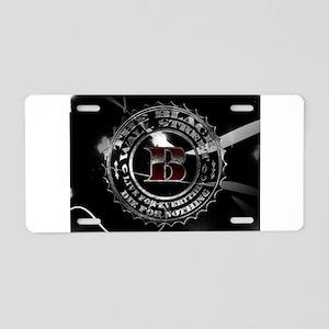 Black Wall Street Aluminum License Plate