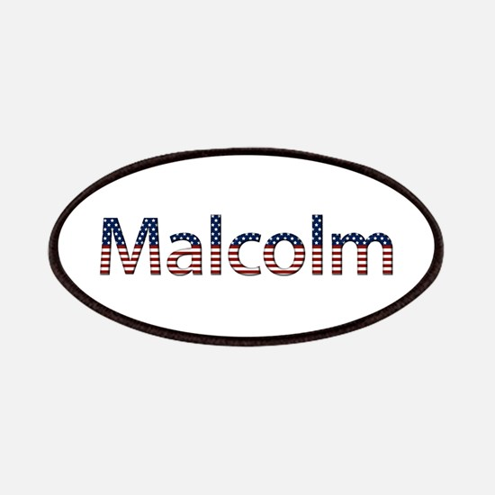 Malcolm Stars and Stripes Patch