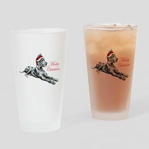 Great Dane Merley Drinking Glass