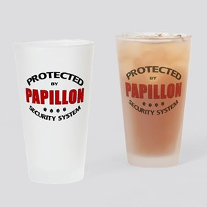 Papillon Security Drinking Glass