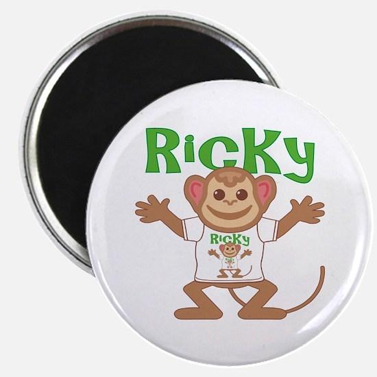 Little Monkey Ricky Magnet