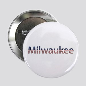 Milwaukee Stars and Stripes Button