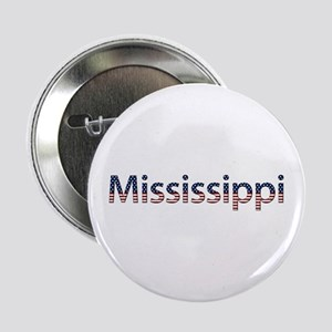 Mississippi Stars and Stripes Button