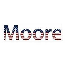 Moore Stars and Stripes 42x14 Wall Peel