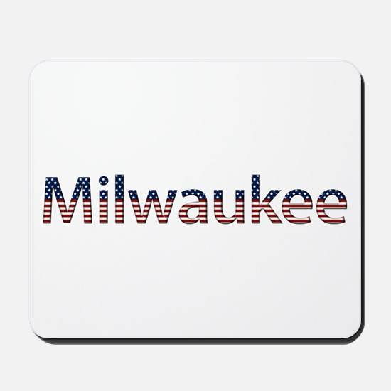 Milwaukee Stars and Stripes Mousepad
