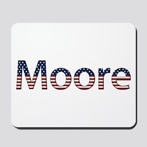 Moore Stars and Stripes Mousepad