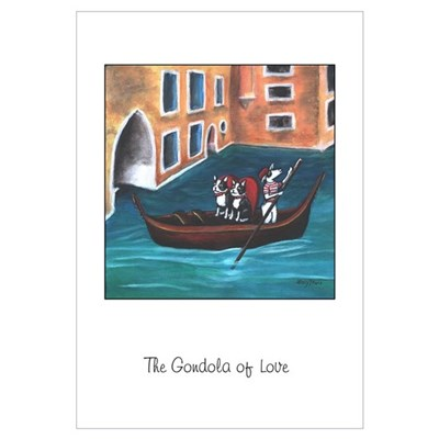 The Gondola of Boston Love Canvas Art
