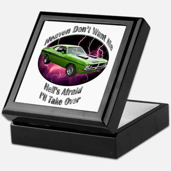 Dodge Demon 340 Keepsake Box