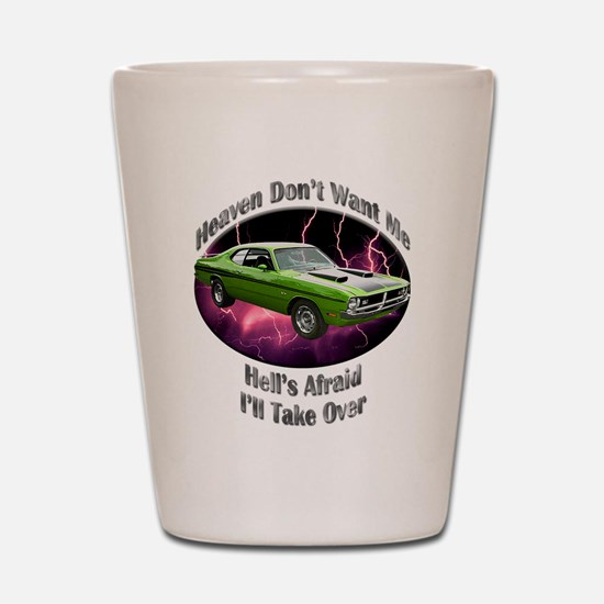 Dodge Demon 340 Shot Glass