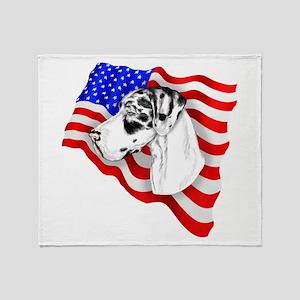 Harle UC Patriot Dane Throw Blanket