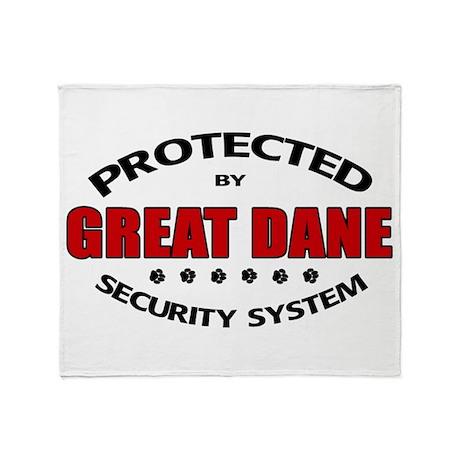 Great Dane Security Throw Blanket