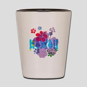 Hawaii Hibiscus Shot Glass