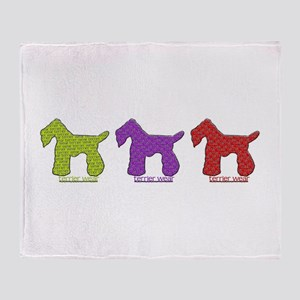 Terrier Wear Throw Blanket