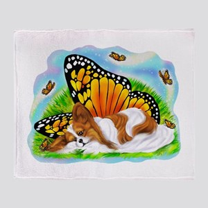 Papillon Mystical Monarch Throw Blanket