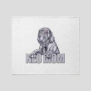 Neo Mom Blue UC Throw Blanket