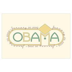 Obama Inauguration (Large) Poster