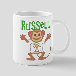 Little Monkey Russell Mug