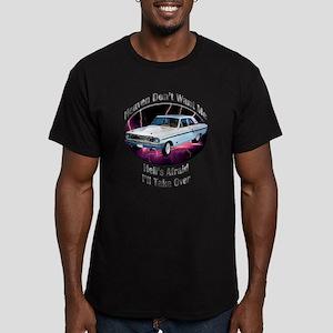 Ford Thunderbolt Men's Fitted T-Shirt (dark)