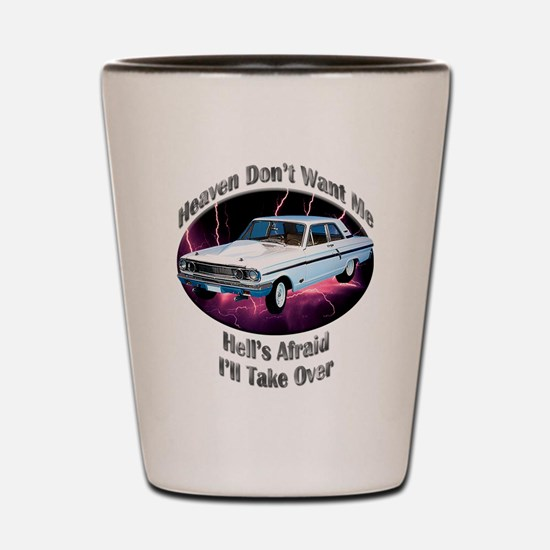 Ford Thunderbolt Shot Glass